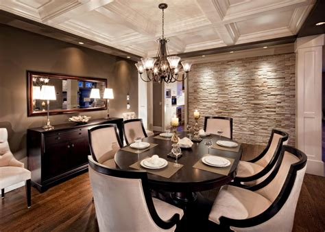 accent wall in dining room photos hgtv