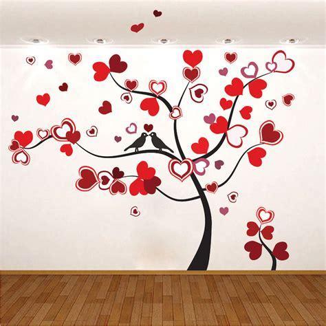 Heart Tree Wall Decal   Love Murals   Primedecals