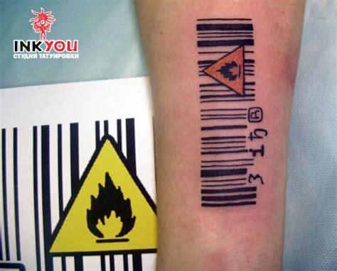 barcode animal tattoo barcode tattoo tattoo girl designs s blog