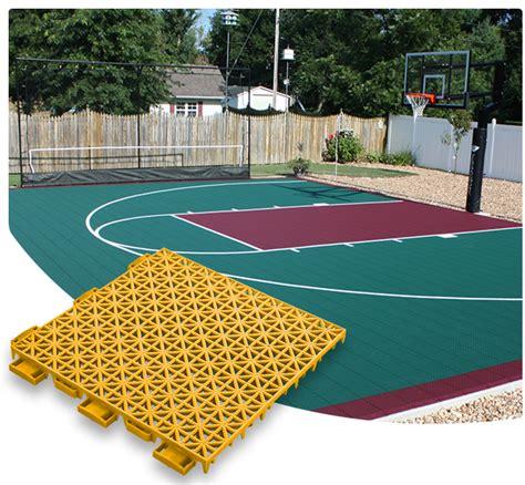 backyard basketball court tiles versacourt court tile basketball flooring gym