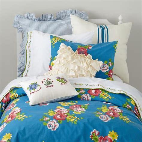 land of nod bed the land of nod girls bedding blue countryside bedding