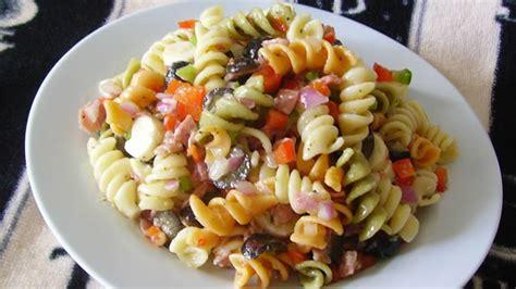 cold pasta salad with italian dressing italian pasta salad recipes allrecipes com