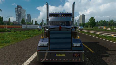 kw truck dealer kenworth w900 truck simulator 2 mods