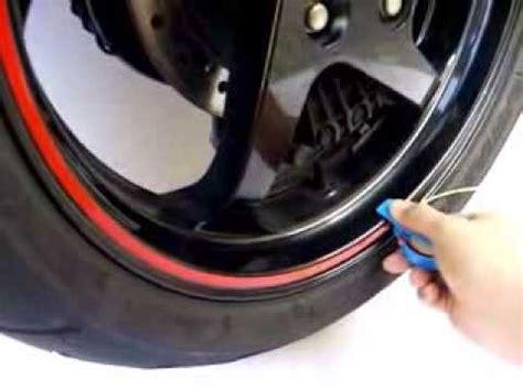 reflective wheel stripe  yamaha honda kawasaki suzuki