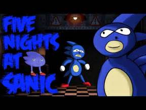 Five nights at sanic demo craziest fnaf parody ever youtube