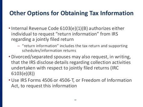 section 6103 of the internal revenue code how to find your spouse s secret offshore bank account
