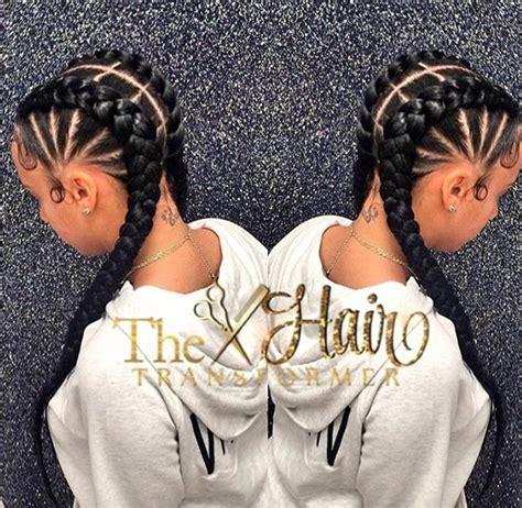 cute goddes braids for black women cute cornrows via the hairtransformer black hair