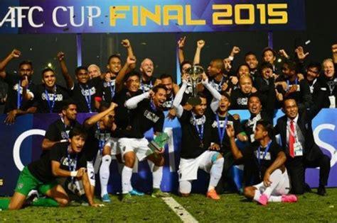 klub malaysia catat sejarah juara piala afc netizen