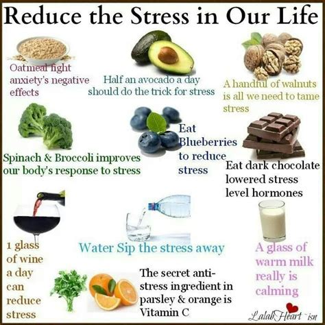 reduce anxiety foods to reduce stress food benefits pinterest