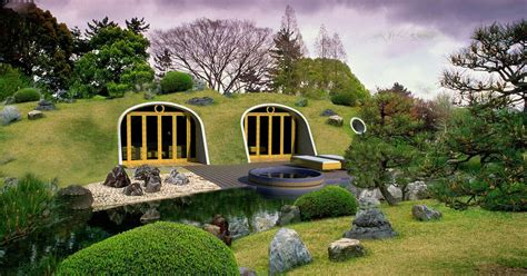 pop up house deutschland real hobbit houses look like they re out
