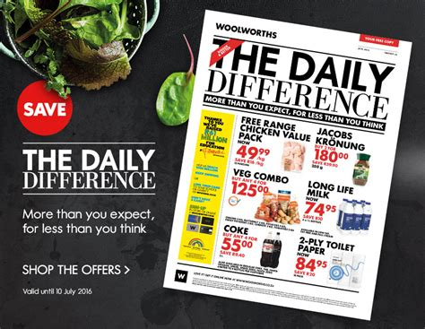 woolworths food specials  jun   jul  find specials