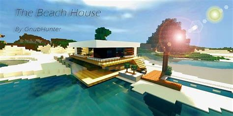 Dining Room Servers Modern The Beach House Minecraft Project