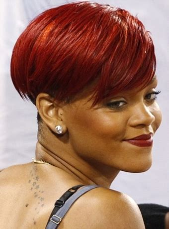 American Hair Style Books Found by Rihanna Bowl Cut Hairstyle Wig Hairstyle 2013