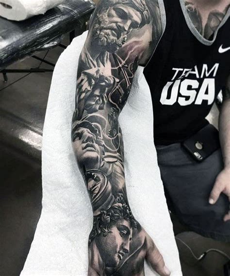 greek mythology sleeve tattoo designs 25 best ideas about god on