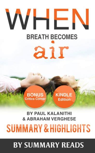 libro when breath becomes air when breath becomes air by paul kalanithi and abraham