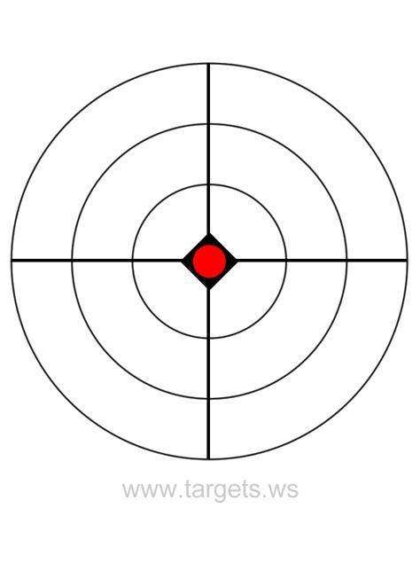 printable shooting targets bullseye pin shooting targets printable on pinterest