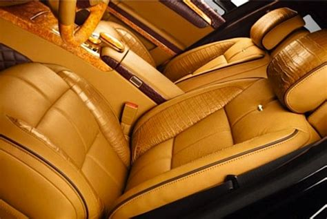 Car Seat Re Upholstery Dartz To Trim Suv In Whale Leather