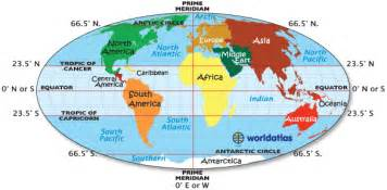 usa map with equator line travel through time zones prime meridian