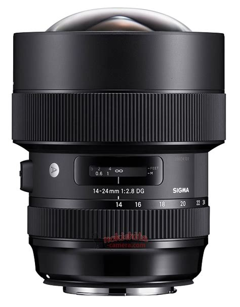 leaked images specs of sigma 14 24mm f 2 8 dg hsm
