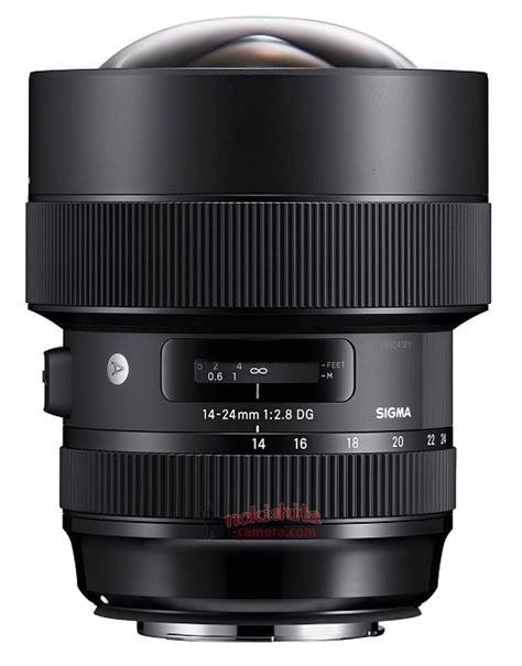 Specs Sigma Leaked Images Specs Of Sigma 14 24mm F 2 8 Dg Hsm Lens