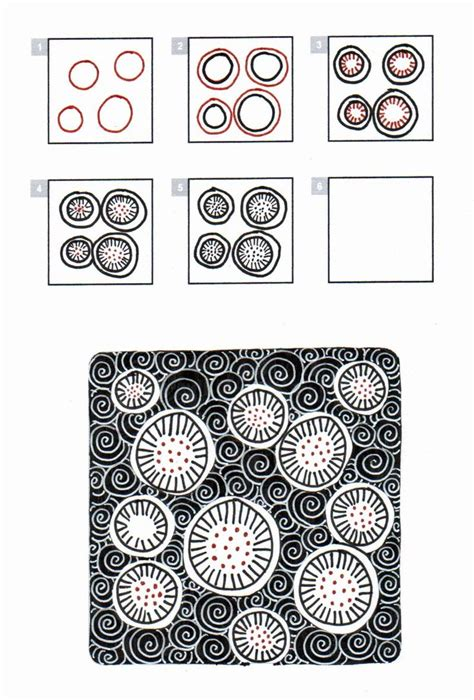 zentangle pattern handouts 17 best images about zentangle curvaceous on pinterest