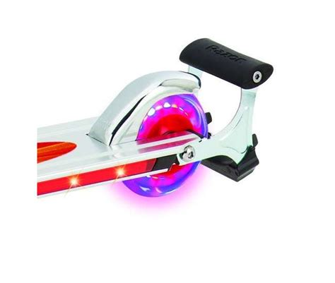 razor scooter with lights razor spark 2 0 kick scooter with led lights 13010458