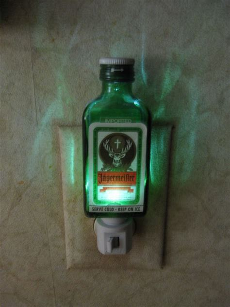 jagermeister night light interesting things pinterest
