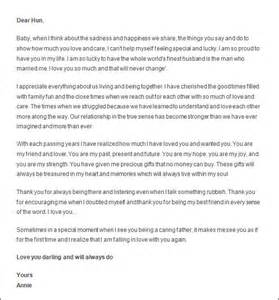 Appreciation Letter To A Husband Appreciation Letter To Husband Sample Thatcher S