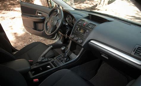 2013 subaru crosstrek interior car and driver