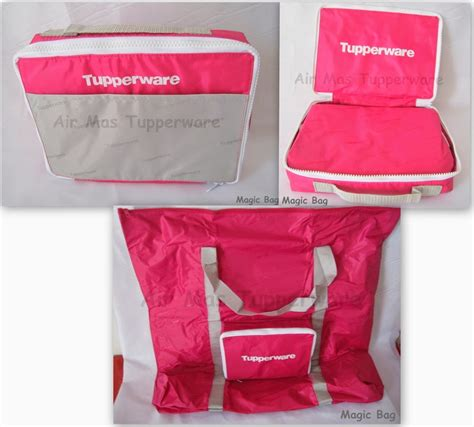Promo Bag 16 18 Maret air tupperware collection magic bag pink sold out