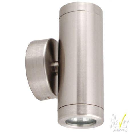 12v Led Outdoor Lights Lighting Australia 12v Led Mini Outdoor Up Wall Pillar Light In Stainless Steel Havit