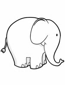 elephant free printable coloring pages
