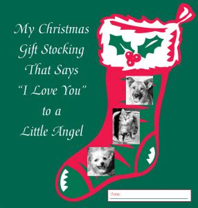 the gift of a christmas stocking says i love you