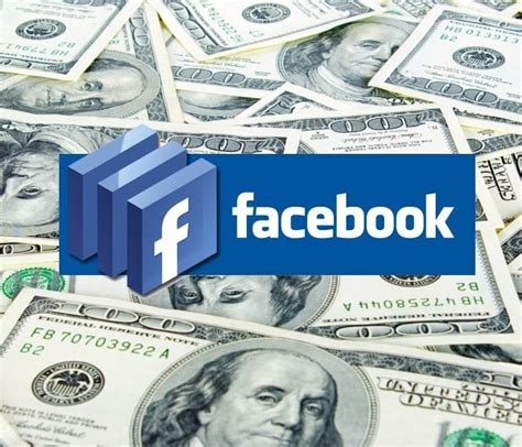 Make Money Online Using Facebook - how to make money with facebook online infographic