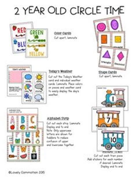 printable lesson plans for 2 year olds teaching colors wall cards for toddlers super easy