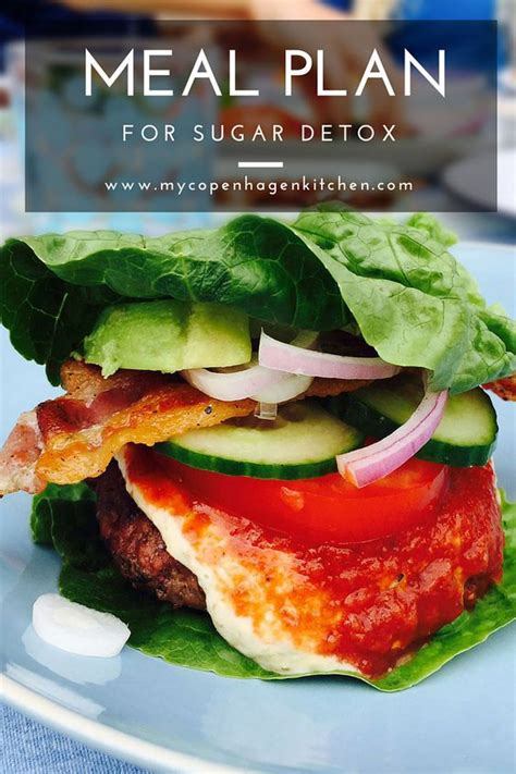 Delicious Detox Dinners by Detailed Meal Plan For Sugar Detox Eat Healthy And