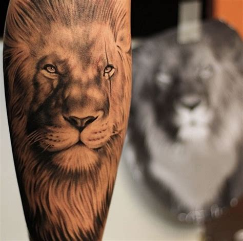 lion leg tattoo 70 designs you must see mens craze