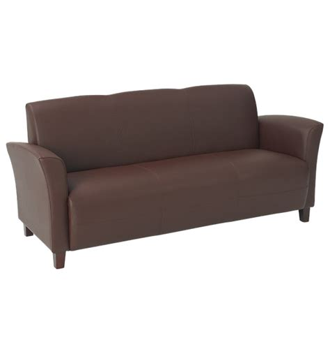 eco couch office star eco leather sofa by oj commerce 673 14