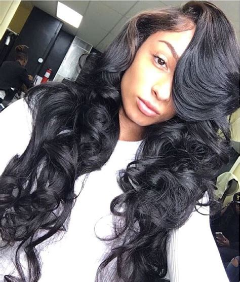 prom hairstyles with sew ins 407 best sew ins images on pinterest black girls
