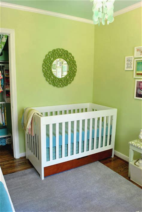 the big nursery reveal a green blue room for our house