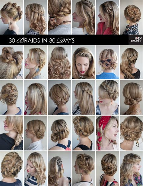 different kinds of braids step by step 30 braids in 30 days the ebook hair romance