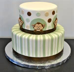 monkey baby shower cake decorate this