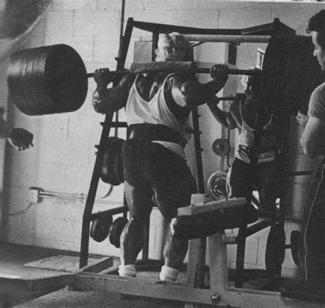 tom platz bench press the overtrained underfed insomniac concept diet