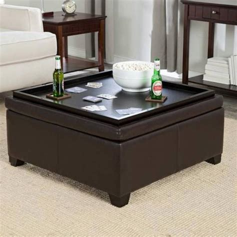 Diy Storage Ottoman Coffee Table Storage Ottoman Coffee Table Diy Rascalartsnyc