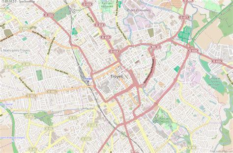 troyes map troyes map latitude longitude free maps