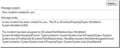 system maintenance notification template creating notification templates in system center service