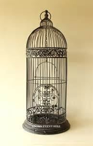 Large Decorative Vases And Urns Tall Black Birdcage