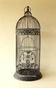 Bc08 tall black birdcage
