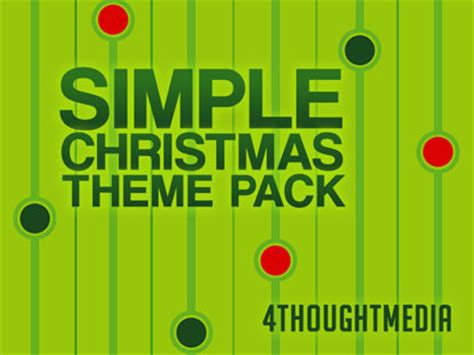 christmas themes pack simple christmas theme pack 4thoughtmedia worshiphouse