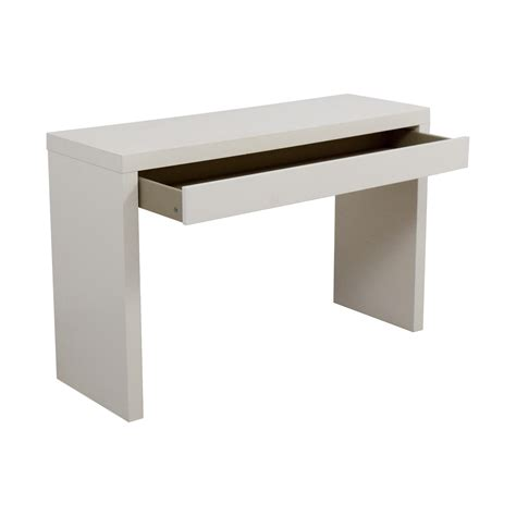 Ikea Small Desk Table 54 Ikea Ikea Malm White Single Drawer Narrow Desk Or Table Tables